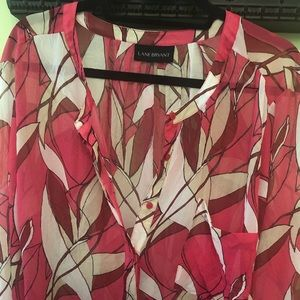 Lane Bryant size 22/24 floral tunic